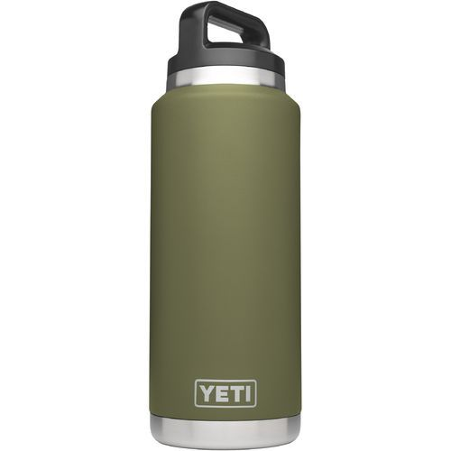 Yeti Rambler 36 oz Bottle Green - Thermos Cups And Koozies at Academy Sports