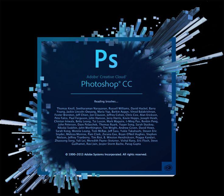 Adobes Photoshop Creative Cloud with updates from their website now as a monthly subscription.