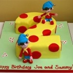Noddy number 2 cake