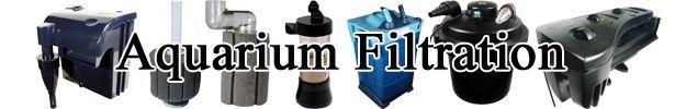 Aquarium Filtration   Filter Types   Advantages & Disadvantages  http://www.americanaquariumproducts.com/Aquarium_Filtration.html