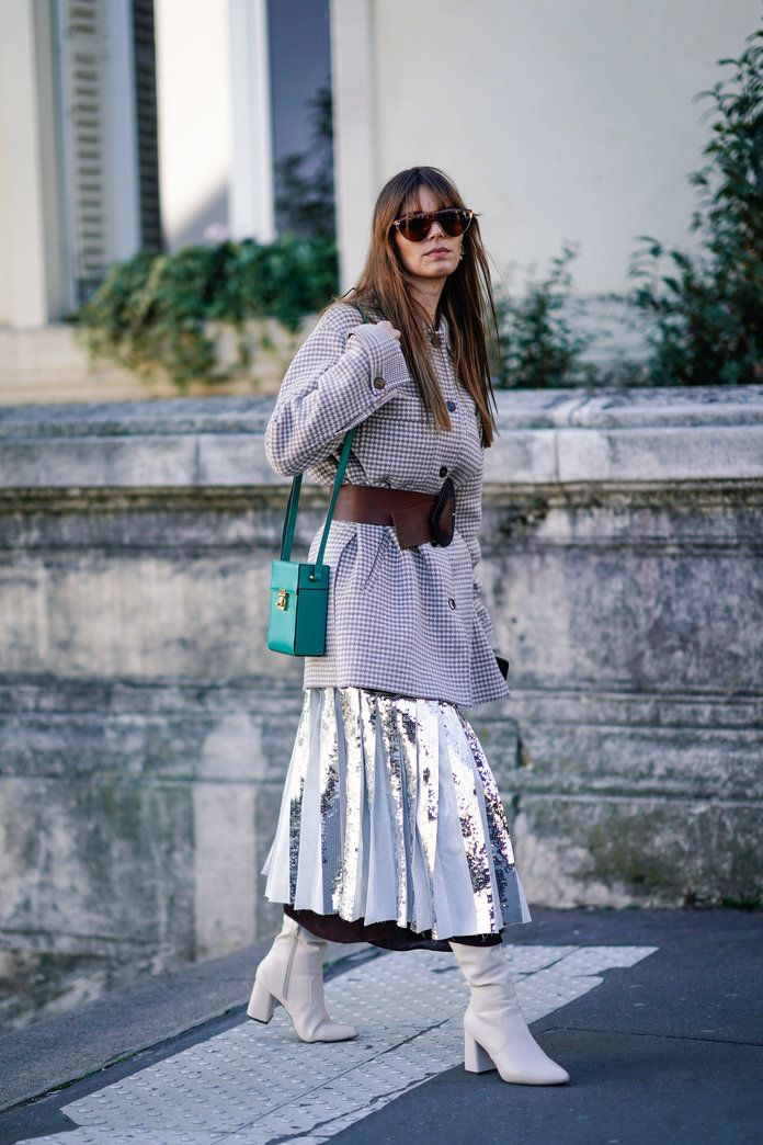 9711c1a378 Pleated Skirts Are Back — Here Are 20 Fresh Ways to Wear One in 2019 |  Fashion | Pleated Skirt, How to wear, Skirts