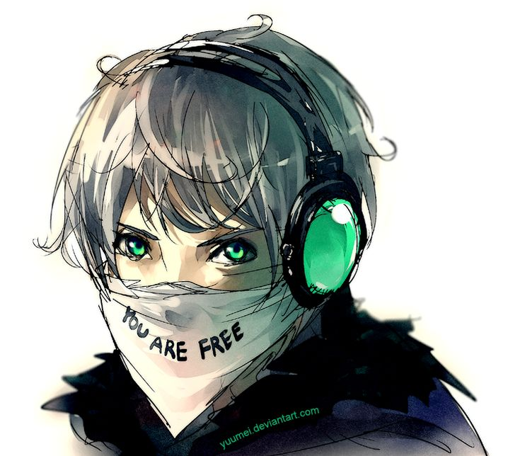 Fisheye Placebo: You Are Free by `yuumei on deviantART-I fricken love this comic it's one of the best that I'm reading!