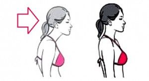 Fix rounded shoulders and stomach pooch