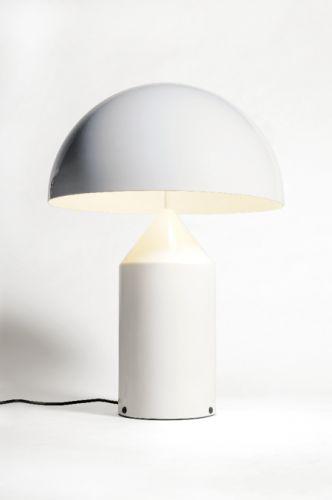 Atollo 233/D, lampada da tavolo, Vico Magistretti, Oluce S.r.l.