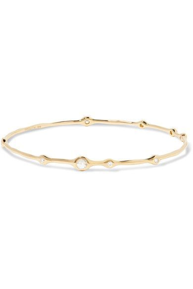 IPPOLITA Glamazon Stardust Superstar 18-karat gold diamond bracelet