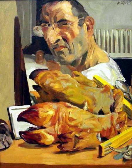 Ananas à Miami: Paintings by Johannes Grützke
