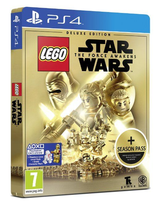 LEGO Star Wars: The Force Awakens Deluxe Steelbook Edition (Amazon Exclusive) (PS4): Amazon.co.uk: PC & Video Games