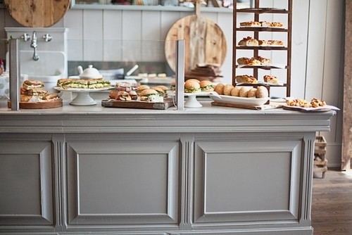 Bakery kitchens pinterest colors the o 39 jays and for Bella cucina kitchen cabinets