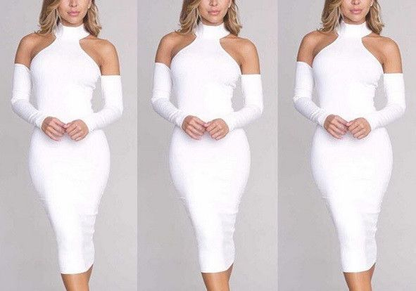 'Daphne White Midi' is the perfect dress for the upcoming holiday parties