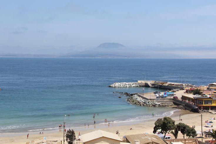 Pichicuy, balneario ubicado en la comuna de La Ligua a 174 kilómetros al norte de Santiago.