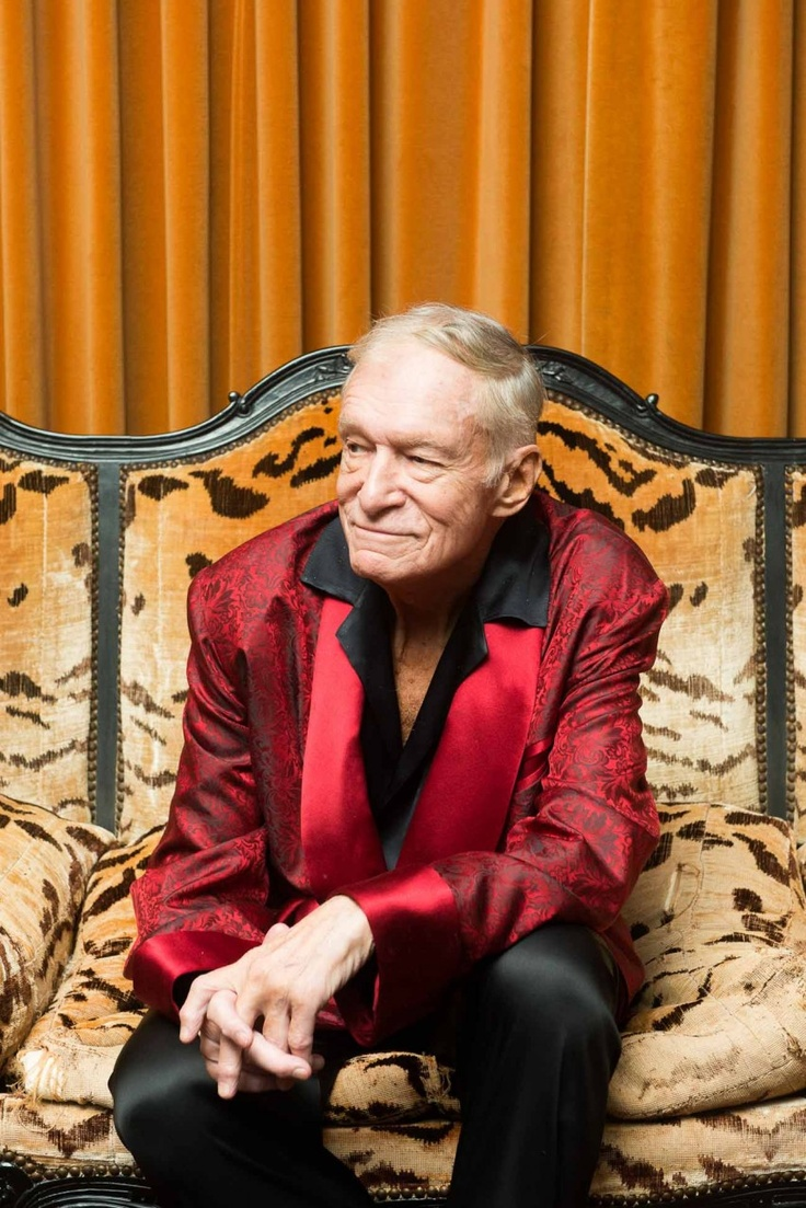 DATE: n/a PERSON/PRODUCT: Pic 4 - Hugh Hefner IMAGE SOURCE: www.thecoveteur.com AGE OF PERSON: currently 88