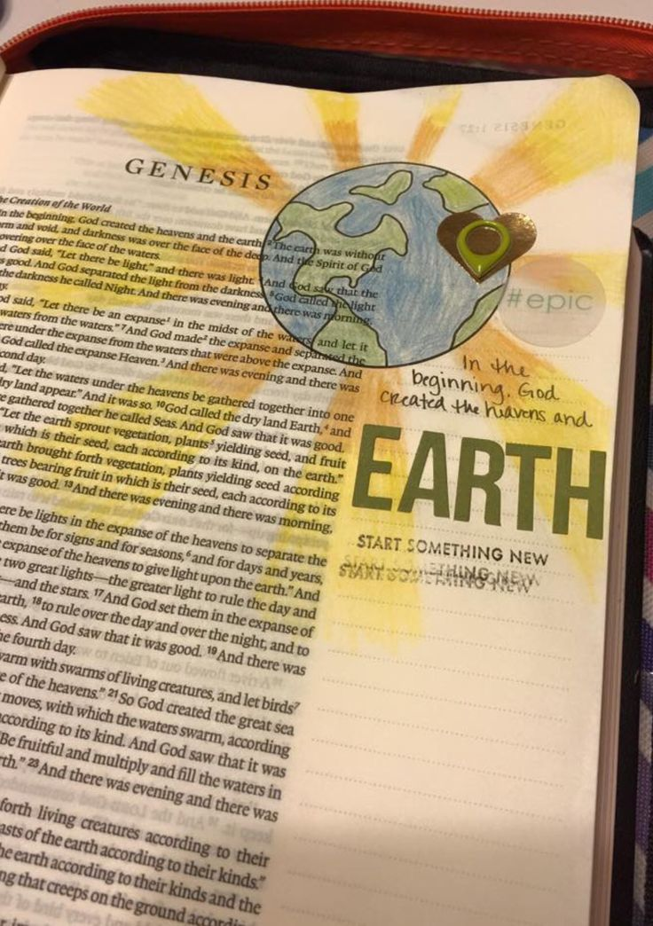 368 Best Images About Genesis Bible Journaling By Book On