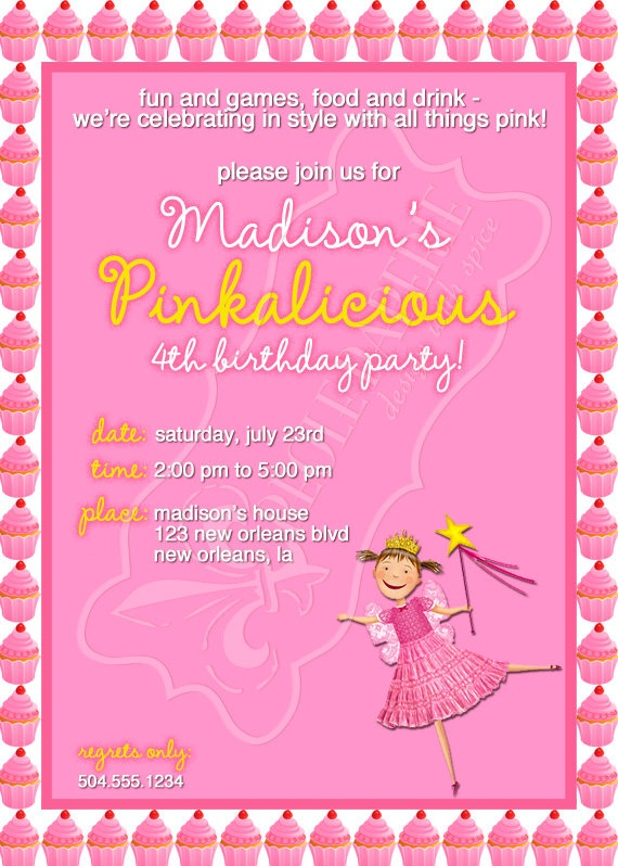 57 best Pinkalicious Party images – Pinkalicious Party Invitations