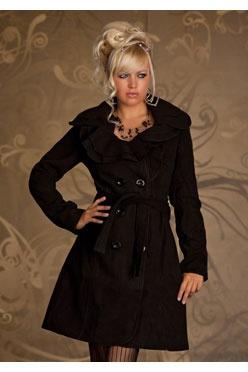 Manteau d'hiver mi long femme