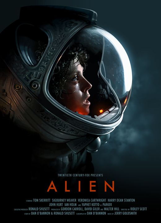 Alien poster by Candykiller