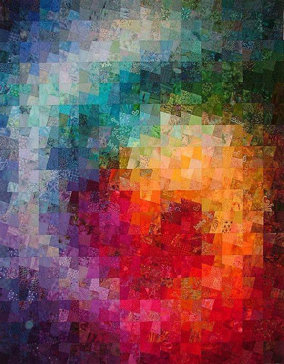 59 Best Watercolor Quilts Images On Pinterest