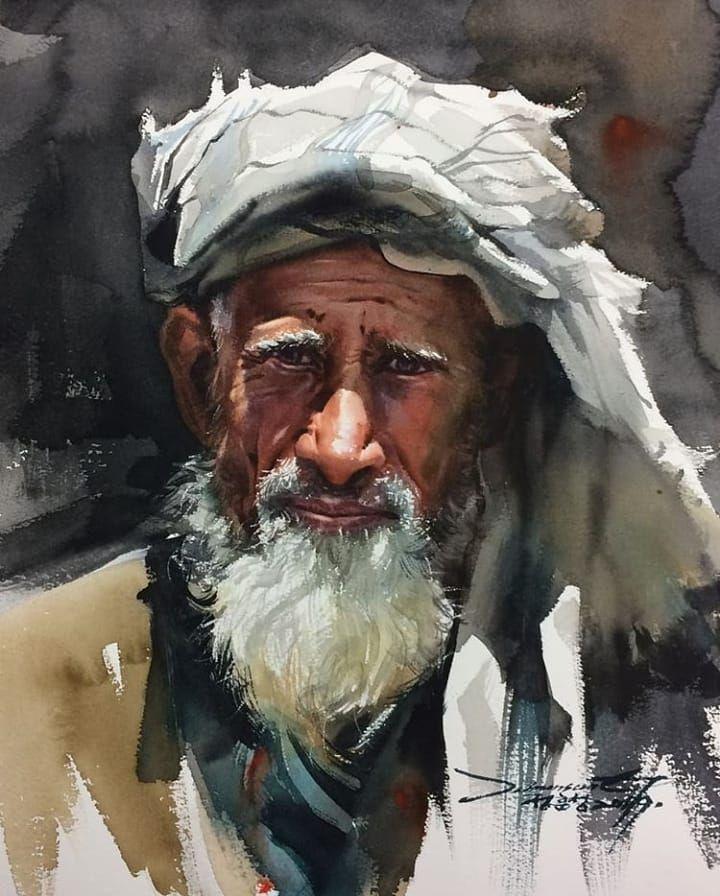 Watercolor Portrait Workshop A Different Painting Approach Step