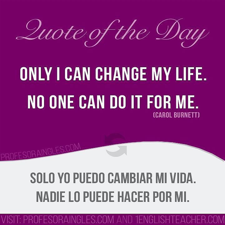 Positive Quotes In Spanish And English: 194 Best Images About Motivation Positive Quotes English