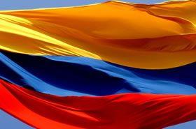 Bandera Nacional de la República de Colombia- Tricolor