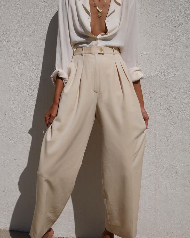 Wunderschöne Vintage Chanel Hose mit weitem Bein …