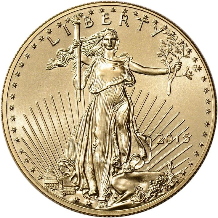 2015 American Gold Eagle (1 oz) $50 BU U.S. Mint. Please go to www.coincollectorguides.com to press on link. Thank you.