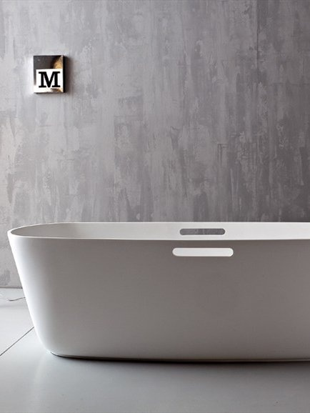 Freestanding korakril bathtub mastell