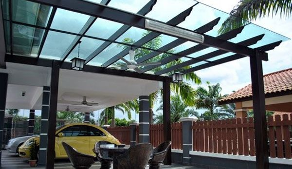 Glazing Sheets Pergolas