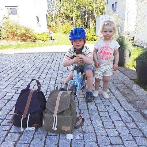 +  =  #kids #foreldre #kidsbackpack #barnehagesekk #barnesekk