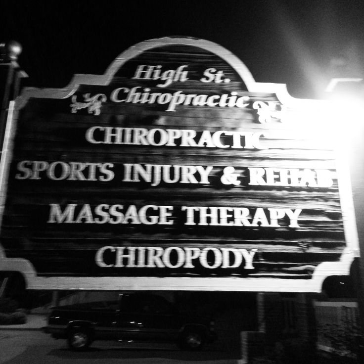 HIGH ST. CHIROPRACTIC - Professionals
