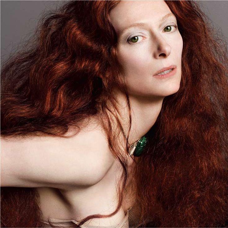Magazine: V Magazine Tilda Swinton: V Magazines, Faces, Tildaswinton, Tilda Swinton, Big Hair, Redheads, Fashion Photography, Portraits, People
