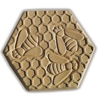 Bees Stepping Stone Mold