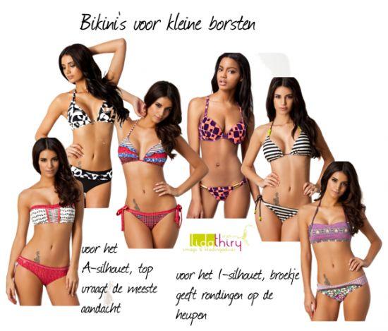 bikini's voor een A-cup. Klik op de foto voor meer details.