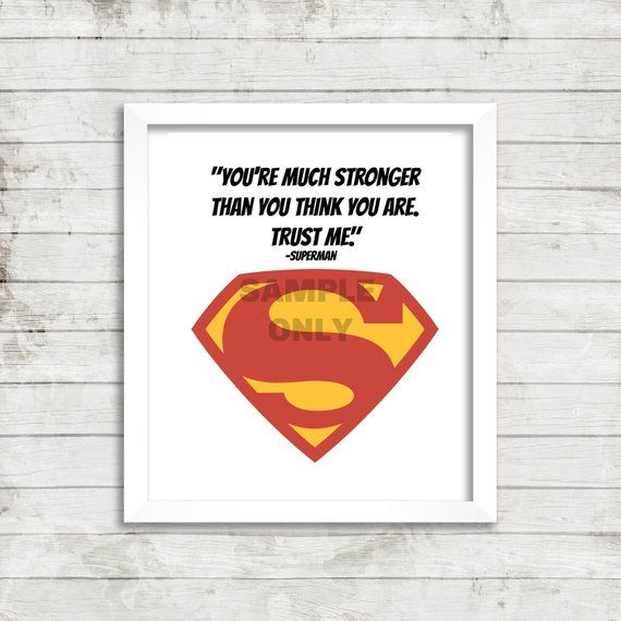 Superman Superhero Quote Kid S Art Children S Art Game
