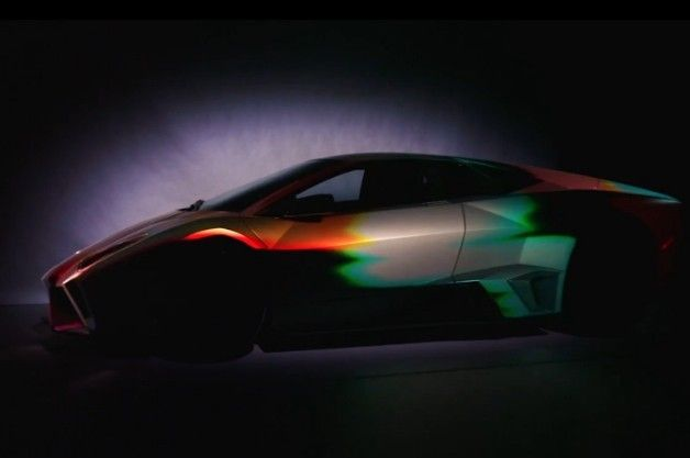 Lamborghini looks fast without moving