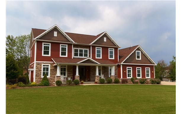 Two story photo gallery photos of two story modular for A e custom homes