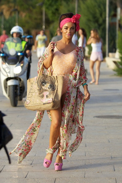 Chelsee Healey Out in Ibiza