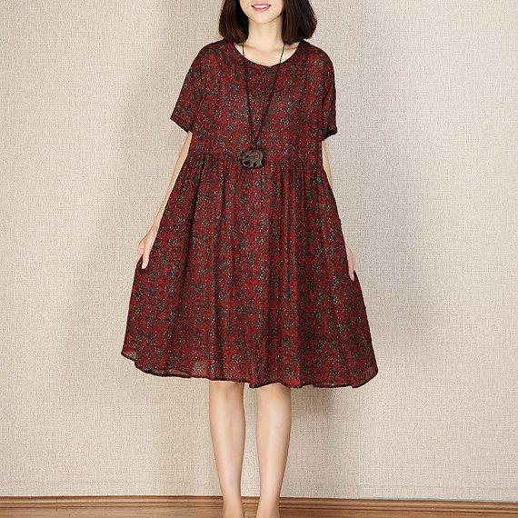 Losse ongedwongen maxi jurk babydoll jurk vrouwen door newstar2016