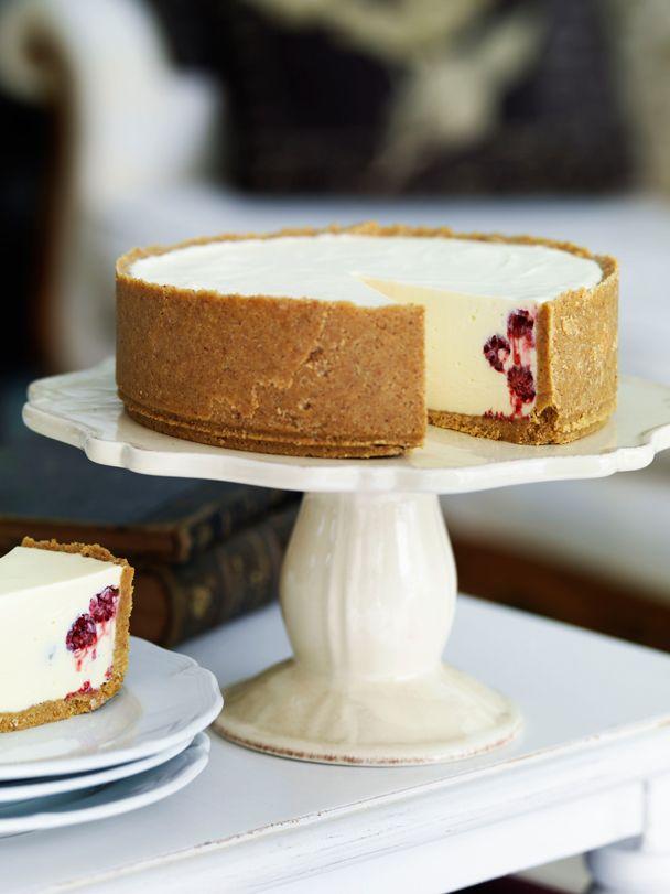 Raspberry and Yoghurt Cheesecake