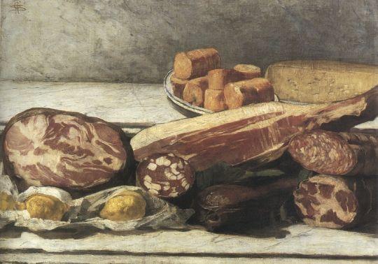Gioia del colore, 1886, Olio su tela, Milano, collezione privata