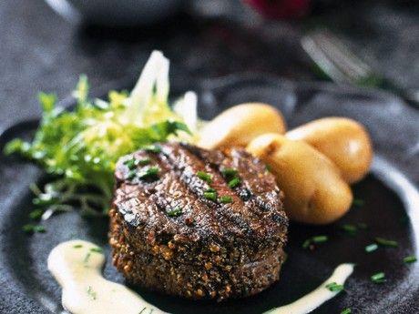 Tournedos of marinated beef