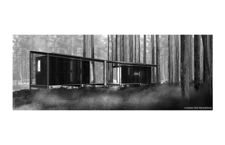17 best thau ii images on pinterest ludwig mies van der for Architectural wood siding