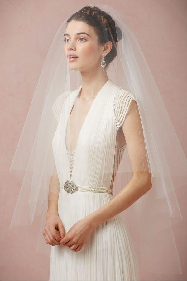 Debra Moreland Cirque Veil | 8 Amazing Bridal Veils & Hair Accessories for Wedding Glamour