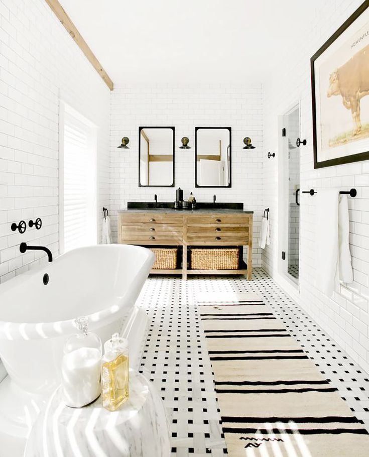 19 Beautiful Bathroom Mirror Ideas That Ll Instantly Upgrade Your Space Modern Farmhouse Bathroom Modern Bathroom Design Unusual Bathrooms