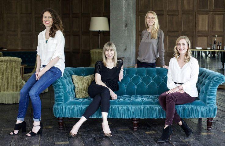 """Das """"Der Berliner Stil"""" Team: Sandra Semburg, Angelika Taschen, Melanie Petersen, Alexa von Heyden"""
