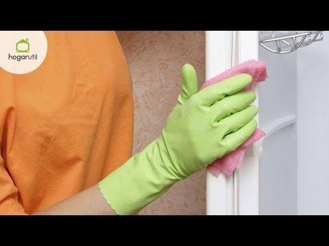 Cómo limpiar las gomas de la puerta de la nevera - Hogarmania