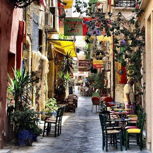 Chania city, Crete Island, Greece