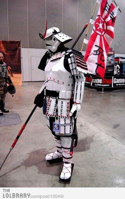 Stormtrooper Samurai: Cosplay, Ancient Japan, Storms Troopers, Samurai Stormtroopers, Stars War, Costume, Comic Book, Samuraistormtroop, Starwars
