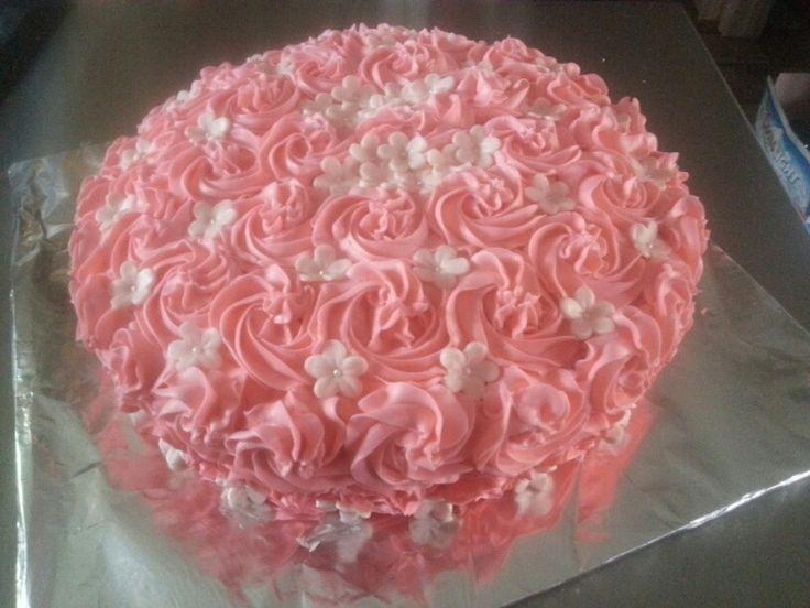 Rose Swirl Cake Design : rose swirl cake For Goodness Cake by Jen Barry ...