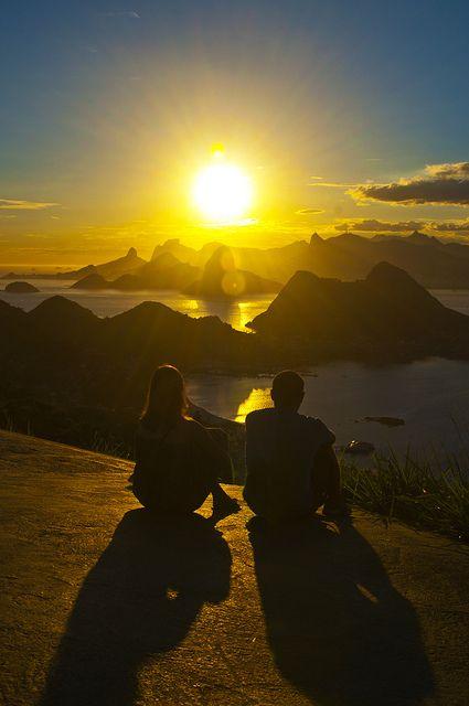OMG!!!!! Want to be there. NIteroi, Rio de Janeiro, Brasil.