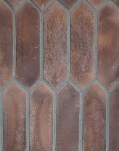 Arto Brick: BB103_3x11Pickets_CottoDark(classic series)Laticrete Grout Used:24 Natural Gray